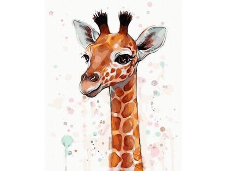 Żyrafa malowanie po numerach