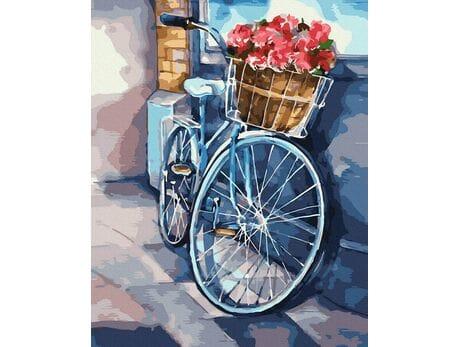 Rowerowe podróże malowanie po numerach