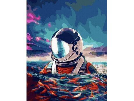 Astronaut in the Ocean malowanie po numerach