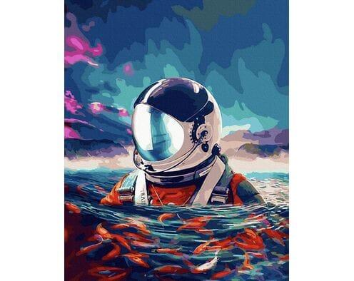 Astronauta na oceanie