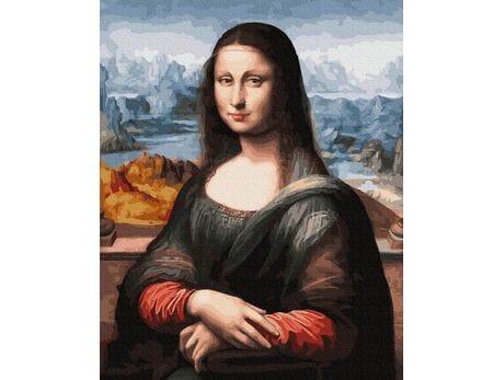 Mona Lisa. Leonardo da Vinci malowanie po numerach