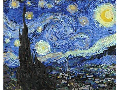 Gwiaździsta noc - Vincent Van Gogh malowanie po numerach