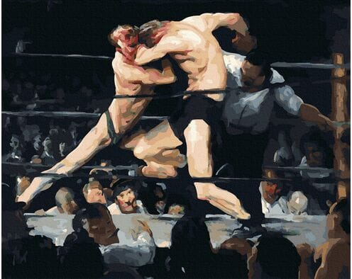 Stag at Sharkey's (George Bellows)