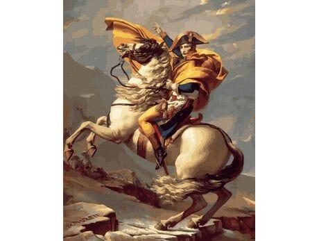 Napoleon - wielki przywódca malowanie po numerach