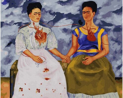 Dwie Fridy (Frida Kahlo)