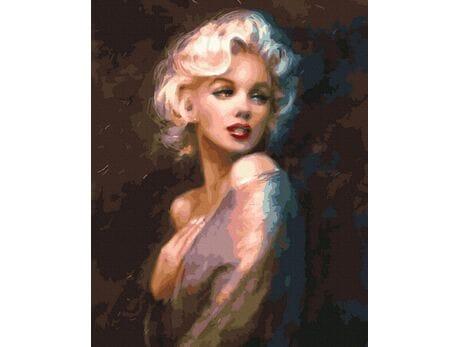 Marilyn Monroe malowanie po numerach