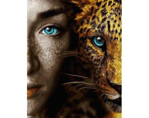 Spojrzenie błękitnych oczu