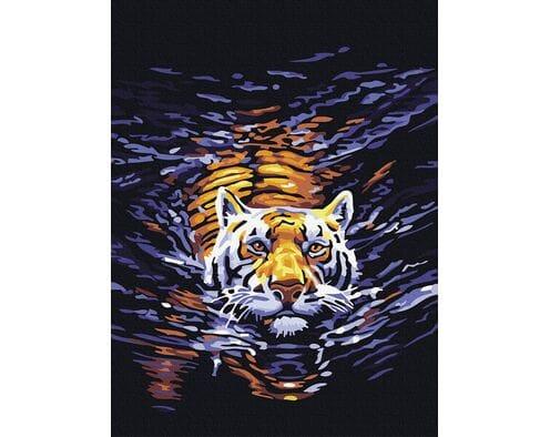 Pływający tygrys