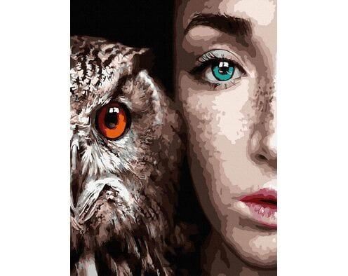 Spojrzenie pięknych oczu