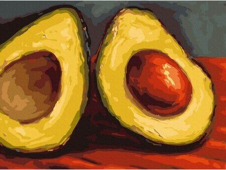 Soczyste Avocado (Van Gogh) malowanie po numerach