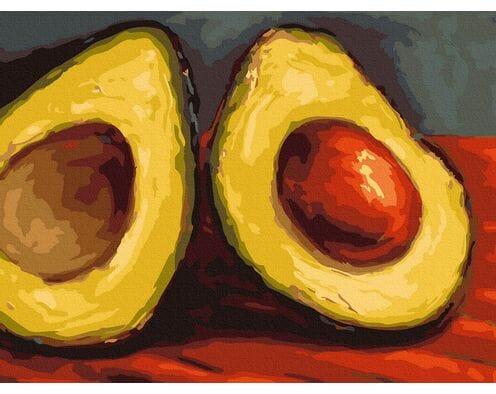 Soczyste Avocado (Van Gogh)