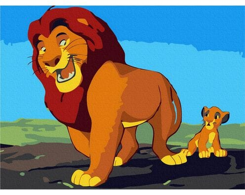 Mufasa i Simba
