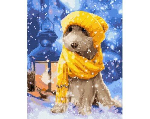 Śnieżny psiak