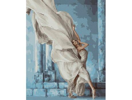 Tajemnicza baletnica malowanie po numerach