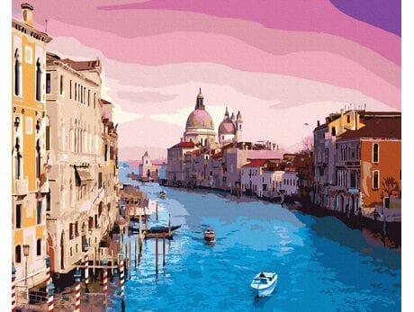 Magiczne niebo Wenecji malowanie po numerach