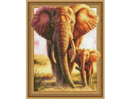 Słoń - symbol spokoju diamentowa mozaika